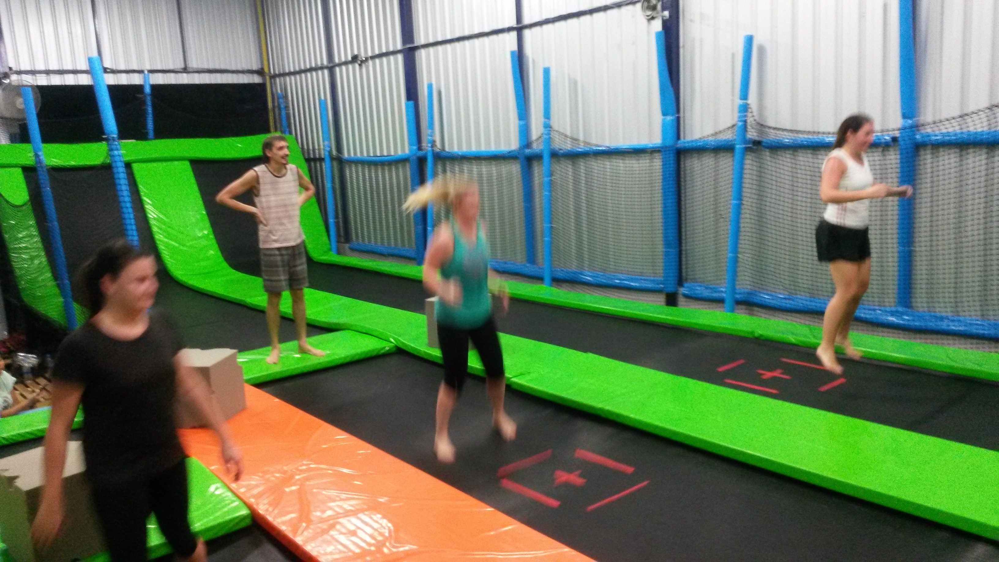 fun and fitness at bangkok s first trampoline park. Black Bedroom Furniture Sets. Home Design Ideas